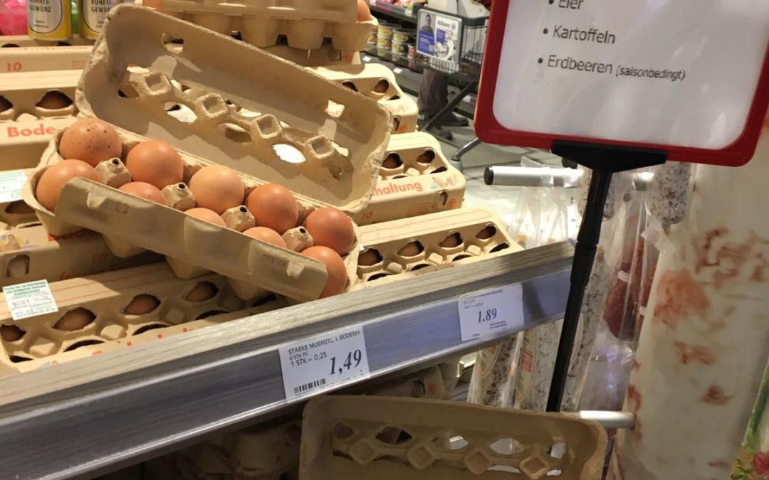 Eier aus Unna Hemmerde !